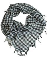 Dreickstuch - Kariert leichter Damen Schal mit vielen FARBEN Karo Tuch Herbst Winter 160 x 50 cm