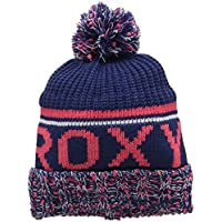 Roxy Relieve Collar - Gorro con Dobladillo para Mujer, Color Azul, Talla única