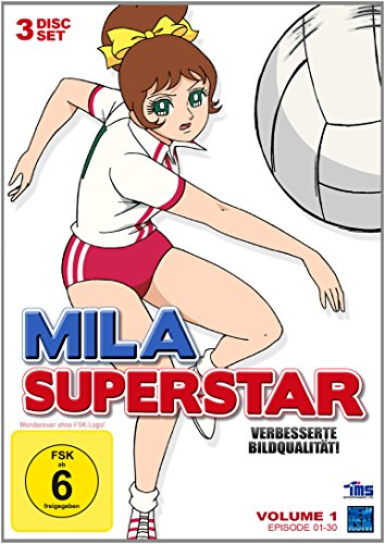 Mila Superstar - Volume 1, Folge 1-30 (DVD)