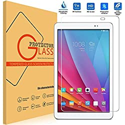 Huawei MediaPad T1 10.0 Cristal Templado Protector Vikoo 9H 0.33mm Ultra Delgado Shatterproof Pantalla de Vidrio Templado Flim Tempered Glass Screen Protector para Huawei MediaPad T1 10.0