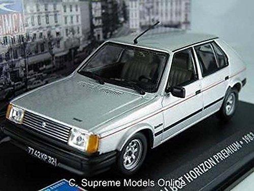 1983-talbot-horizon-premium-car-model-1-43-scale-silver-colour-example-t3412z