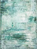 Kare Bild Touched Abstract 90 x 120cm, Holz, Blau, 3.5 x 120 x 90 cm
