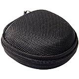 Tasche Case Schutztasche f. Ohrhörer Ohrstöpsel Schwarz