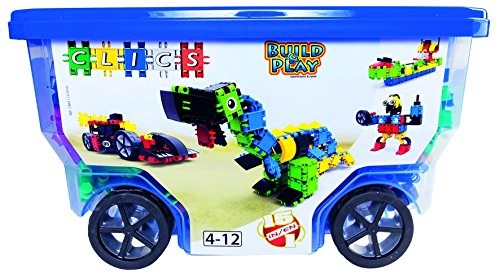 Preisvergleich Produktbild Clics CB411 Rollerbox 15 in 1, Baukästen
