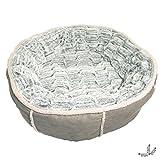 Rosewood Panier Profond en Forme de Beignet pour Chien Gris 50 cm