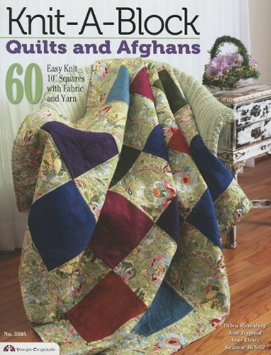 Knit-A-Block Quilts and Afghans  60 Easy to Knit 10