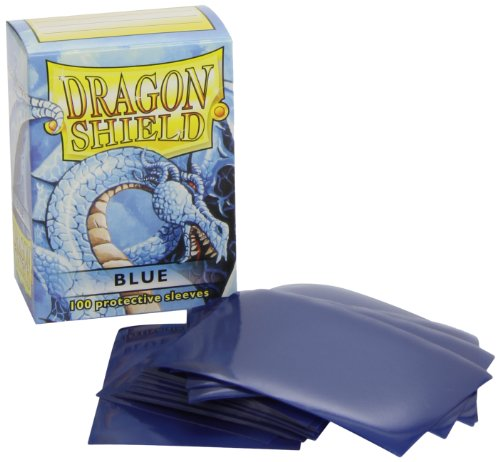 Dragon Shield Standard Manches (Bleu)