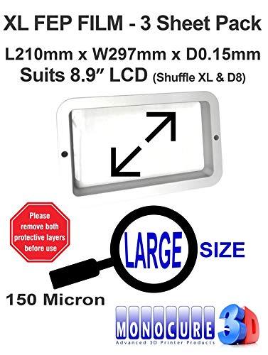 Monocure3D 3DFF150-3P XL FEP Film 150 Micron - Película