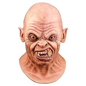 Générique Générique-MAHAL704 -Máscara látex para Adulto, diseño de Demonio Bald -An American Wolf in London-Talla única