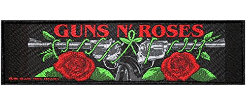 Guns N 'Roses SuperS Trip della Toppa Logo/Roses Patch in tessuto 19x 5cm