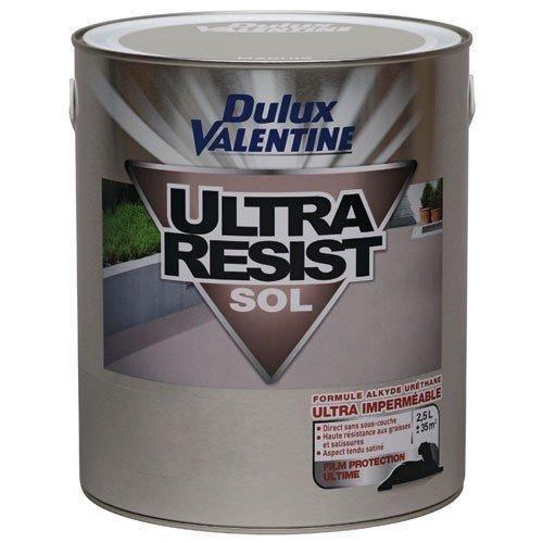 Peinture - Ultra résist sol - gris clair - 0.5 L