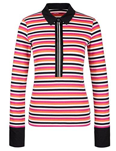 Marc Cain Sports Damen Poloshirt Polo-Shirt Mehrfarbig (Phlox 267)
