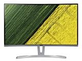 Acer ED273 69 cm (27 Zoll) Monitor (VGA, DVI, HDMI, 4 ms Reaktionszeit, Full HD, Curved VA Display) silber