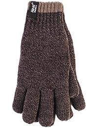Heat Holders Mens 1 Pack Contrast Thermal Gloves