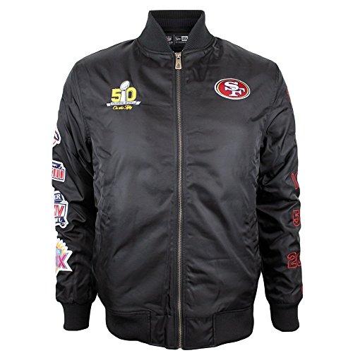 new-era-san-francisco-49ers-super-bowl-50-nfl-bomber-chaqueta-color-negro-hombre-negro-large