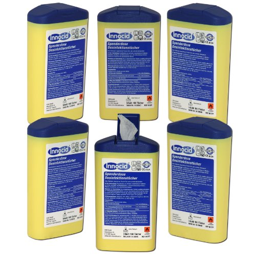 6x-100-desinfektionstucher-tucher-tuch-innocid-spenderdose-desinfektion-hygiene