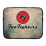 Cinocu Foo Fighters Band 33cm/38,1cm custodia portatile borsa Black 13''