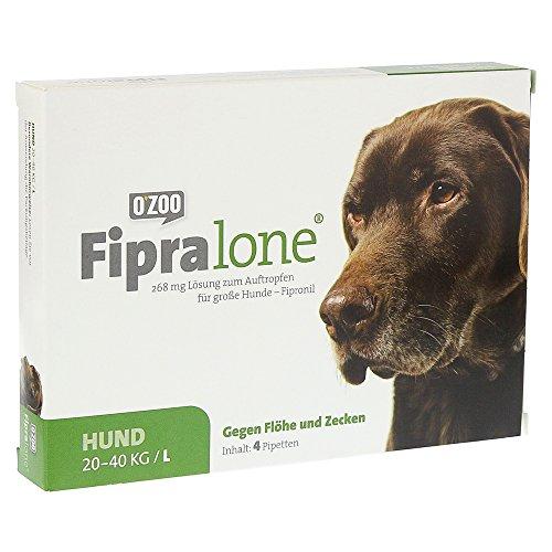 FIPRALONE 268 mg Lsg.z.Auftropf.f.große Hunde vet. 4 Stück