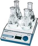 Witeg Magnetrührer MS-MP4 mit 2x2 Stellen 80-1.2000U/min, zum Mischen von Proben in der Mikrobiologie oder Biochemie