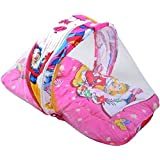 Balaji Fab™Industries Cotton Infants Pretty Princess Baby Bed With Mosquito NET Mosquito Net(Barbie Jali)
