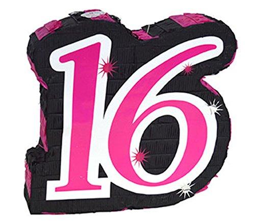 Party Palast - Dekoration Party Piñata Sweet 16 Geburtstag 45x45x10 cm, (Dekorationen Party Schneewittchen)