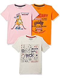 Sunday Sale : Flat 50% And More OFF On Cherokee Boys' Plain Combo T-Shirt (Pack of 3) low price image 11