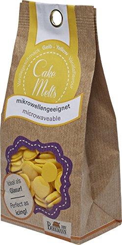 RBV Birkmann CakeMelts, gelb (Schokolade Pops Für Cake)