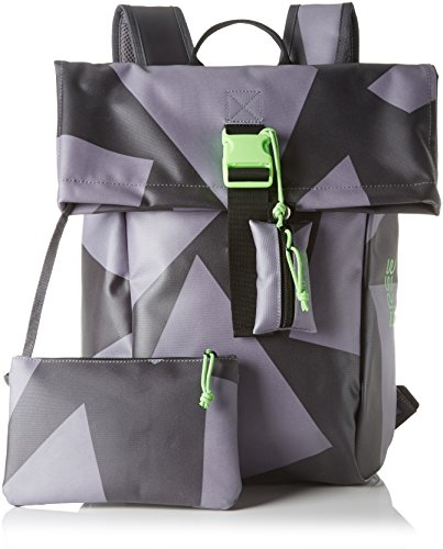 BREE Punch 92, Backpack Small S17, Portés dos Mehrfarbig (black/grey)
