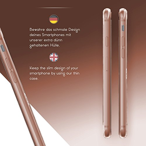 Apple iPhone 6 / 6s Handyhülle von Original Urcover® in der TPU Ultra Slim 360 Grad Edition iPhone 6 / 6s Schutzhülle Case Cover Etui Rosa [DEUTSCHER FACHHANDEL] Rosa