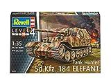 Revell Modellbausatz Panzer 1:35 - Sd.Kfz.184 Tank Hunter ELEFANT im