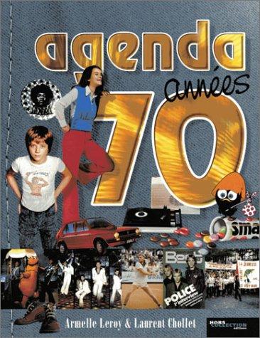 Agenda années 70 par Laurent Chollet