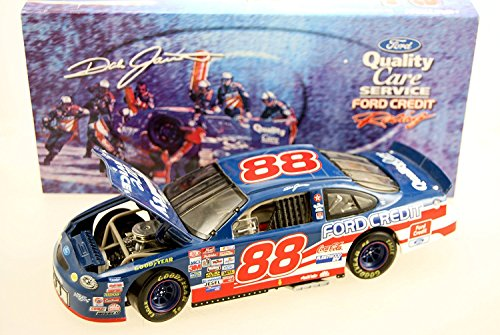 Action - NASCAR - Dale Jarrett #88 - 1999 Ford Taurus - Quality Care - 1:24 Scale Die Cast Bank - Rare - 1 of 2,500 - Limited Edition - Collectible by Nascar -