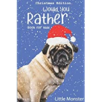 Would you rather book for kids: The Book of Jokes and Silly Scenarios for Children from 5-12 years old| Christmas edition Best game for family time (Christmas Gift)