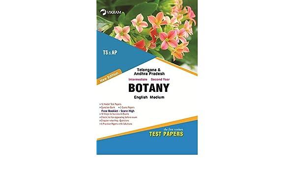 Amazon in: Buy TS & AP Inter II-BOTANY (E M) (Test Paper