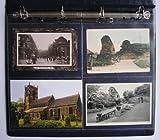 Family Tree Folk Postkartenhüllen / Sichthüllen, säurefrei, für Ringbuchalben, 4Einschübe pro Seite, A4, 10Stück