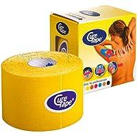 Cure Original Kinesiology Tape, 5 cm x 5 m, gelb (1 x 1 Stück) preisvergleich bei billige-tabletten.eu