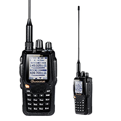 WOUXUN KG-UV8D Plus Interphone Walkie Talkie UV Dual-Band Hand-Hold VOX Duplex Ripetitore...