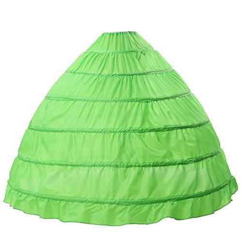 Petticoat Reifrock Unterröcke Damen Lang Fur Brautkleid Hochzeitskleid Vintage Crinoline...