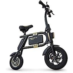 InMotion P1F - Mini-Scooter Unisex, Color Negro y Dorado