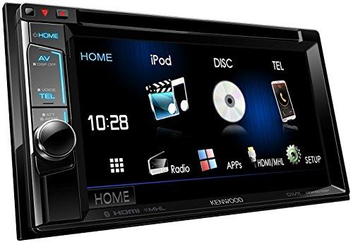 Kenwood DDX5016BT 15,7 cm Doppel-DIN-VGA-Monitor mit USB/DVD und Bluetooth-Freisprecheinrichtung schwarz - Radio Kenwood Kabelbaum