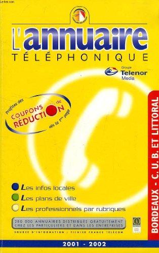 lannuaire-telephonique-2001-2002-bordeaux-cub-littoral