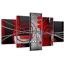 Bild auf Leinwand - Leinwandbilder - fünf Teile - Breite: 150cm, Höhe: 100cm - Bildnummer 0599 - fünfteilig - mehrteilig - zum Aufhängen bereit - Bilder - Kunstdruck - EA150x100-0599