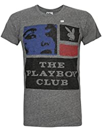 Hombres - Junk Food Clothing - Playboy - Camiseta