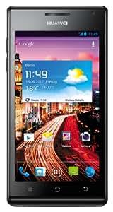 Huawei Ascend P1 QISU9200 Smartphone (10,9 cm (4,3 Zoll) Touchscreen, 8 Megapixel Kamera, 4 GB Interner Speicher, Android 4.0) schwarz