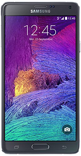Samsung Galaxy Note 4 Smartphone (Wi-Fi, Bluetooth, USB, Android 4.4 KitKat), 32 GB schwarz