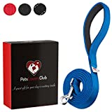 PetsLovers Heavy Duty Lead for Large Dogs - 1.8m Long (Blue)