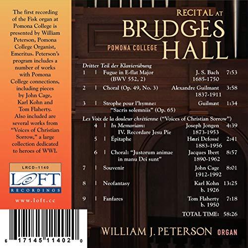 Zoom IMG-1 recital at bridges hall