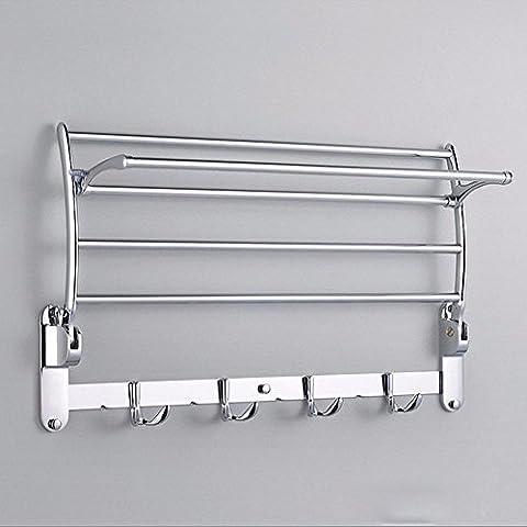 KHSKX MU-Royal in acciaio inox porta asciugamani bagno portasciugamani asciugamano bar