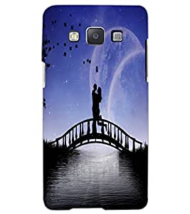 SAMSUNG GALAXY A5 LOVE COUPLE Back Cover by PRINTSWAG