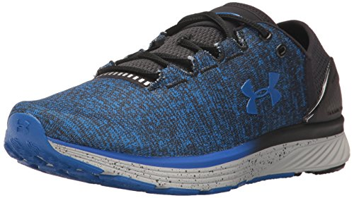 Under Armour UA Charged Bandit 3, Scarpe da Corsa Uomo, Multicolore Black/Ultra Blue, 41 EU